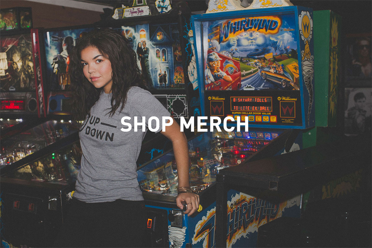 shop Up-Down merch