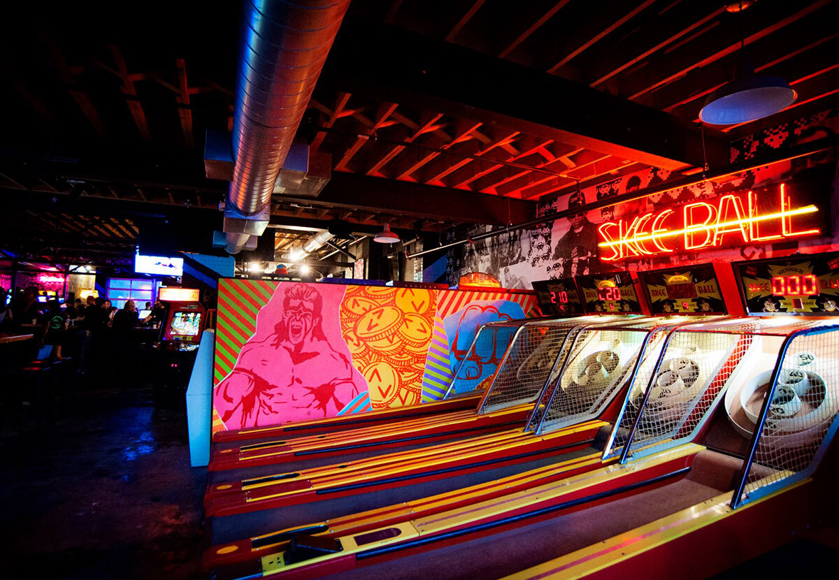 Up Down Minneapolis skeeball
